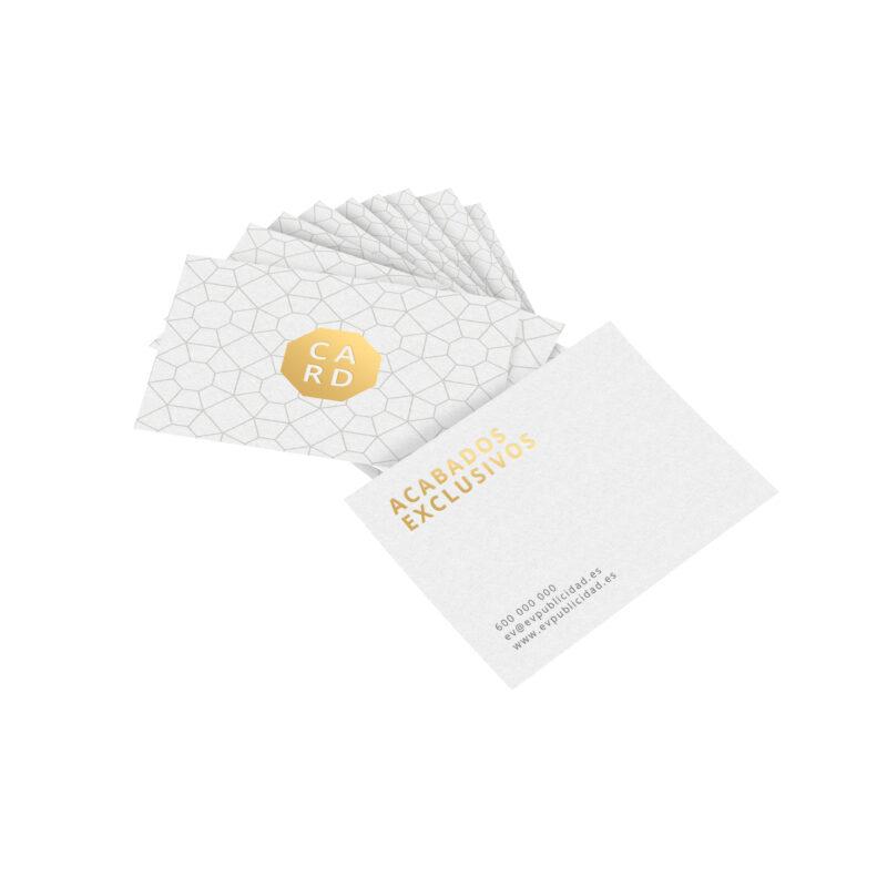 tarjetas visita stamping