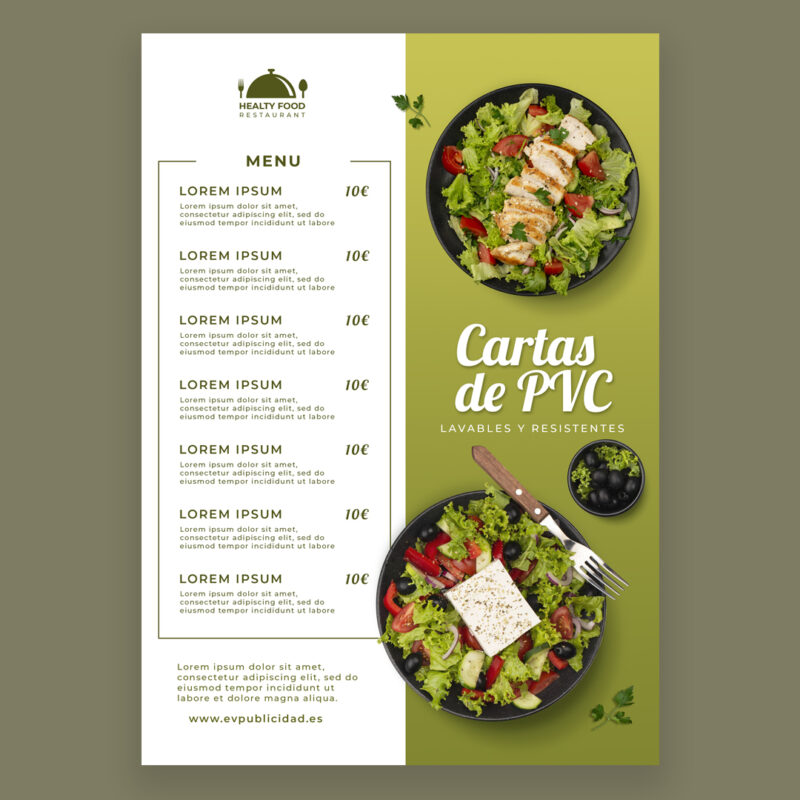 carta-restaurante-pvc